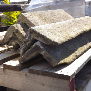 Roofing tiles and beams