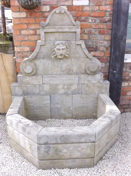 Limestone Water Font Architectural Salvage Ireland