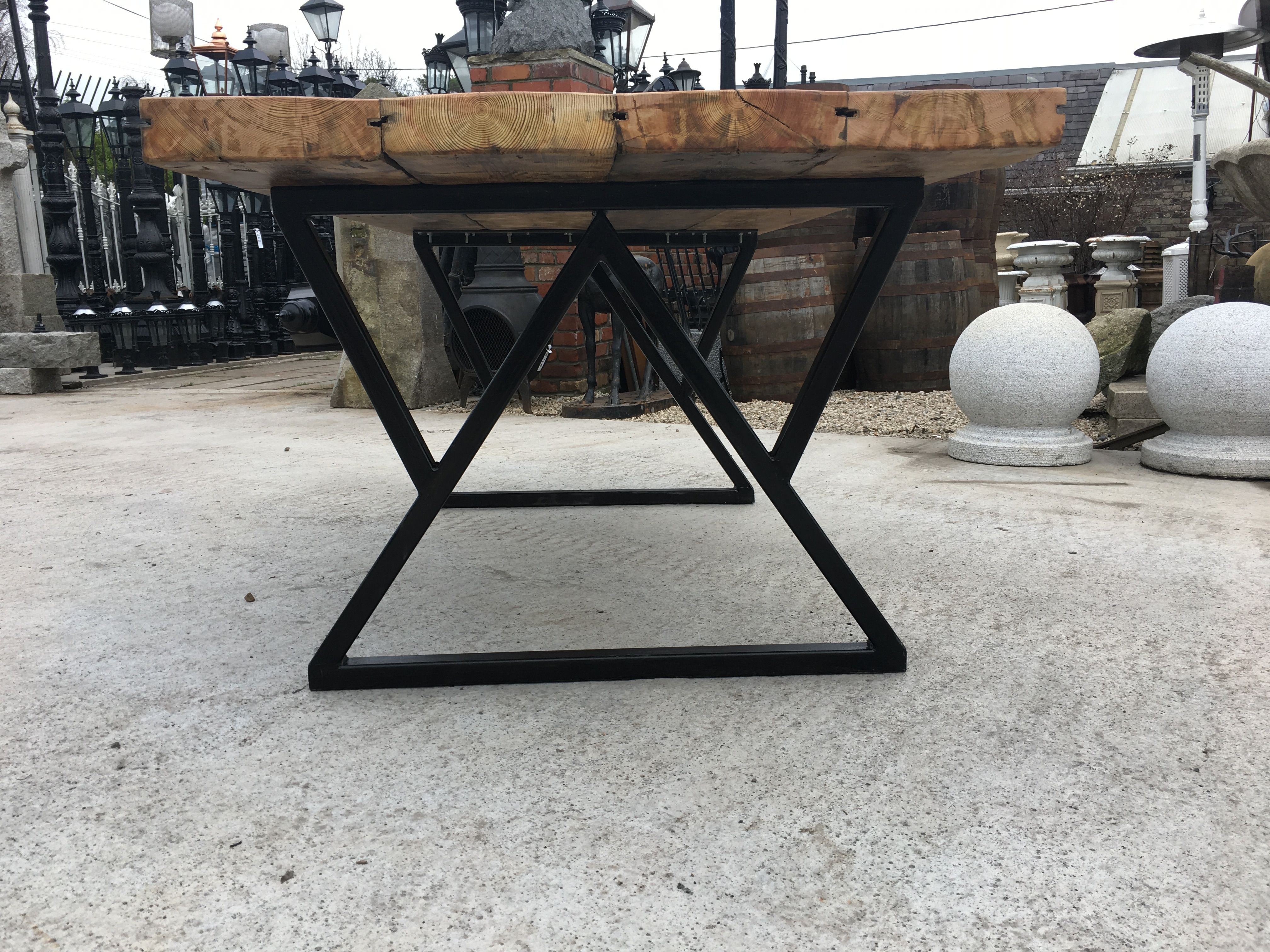 Industrial Table Architectural Salvage Ireland