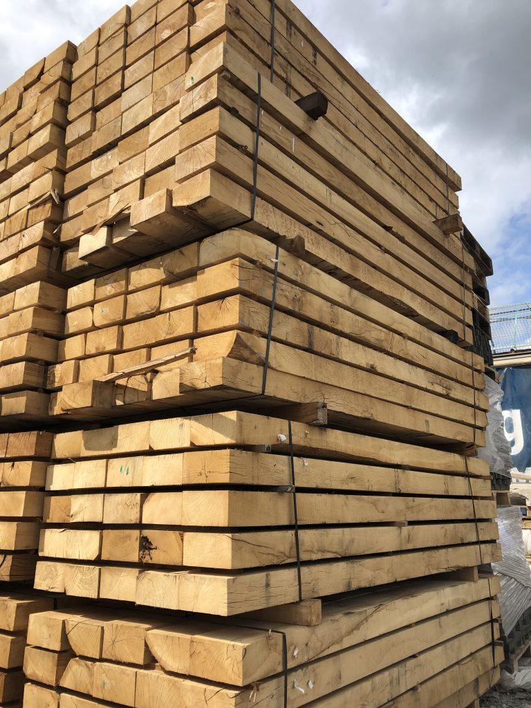 New Oak sleepers – Architectural Salvage Ireland